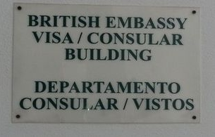 British Embassy Building Plaque